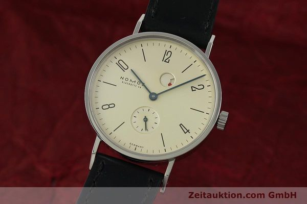 NOMOS TANGENTE STEEL MANUAL WINDING KAL. GAMMA 85 LP: 1960EUR [150764]