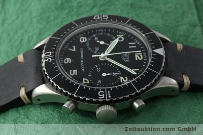 TAG HEUER CHRONOGRAPH STEEL MANUAL WINDING KAL. VALJ. 230 VINTAGE [150768]