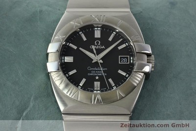 OMEGA CONSTELLATION CO-AXIAL CHRONOMETER STAHL AUTOMATIK HERRENUHR NP: 4700,- Euro [150770]