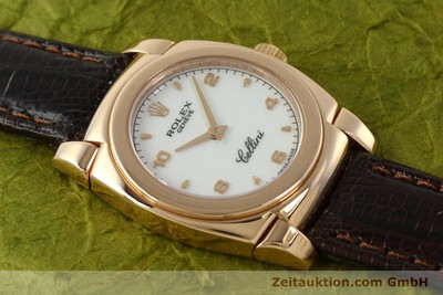 ROLEX CELLINI 18 CT GOLD MANUAL WINDING KAL. 1602 [150773]