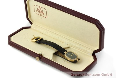 PATEK PHILIPPE ELLIPSE ORO 18 CT QUARZO KAL. E15 LP: 18100EUR [150777]