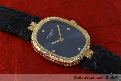 PATEK PHILIPPE ELLIPSE OR 18 CT QUARTZ KAL. E15 LP: 18100EUR [150777]