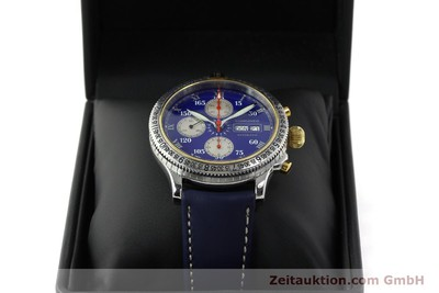 LONGINES LINDBERGH STUNDENWINKEL CHRONOGRAPH STEEL / GOLD AUTOMATIC KAL. L674.7 [150783]