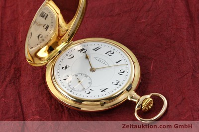 A. LANGE & SÖHNE DUF 14 CT YELLOW GOLD MANUAL WINDING KAL. 43 [150795]