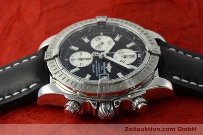 BREITLING EVOLUTION CHRONOGRAPH STEEL AUTOMATIC KAL. B13 ETA 7750 [150797]