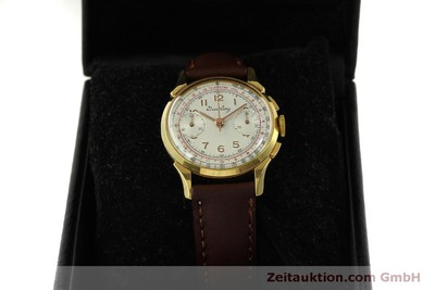 BREITLING CHRONOGRAPH GOLD-PLATED MANUAL WINDING KAL. VENUS 188 VINTAGE [150801]