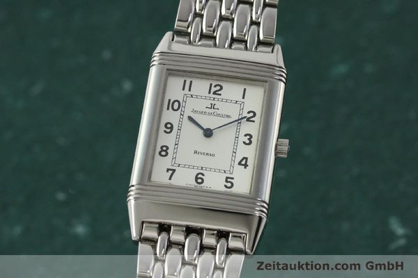 JAEGER LE COULTRE REVERSO STEEL MANUAL WINDING KAL. 846 [150803]