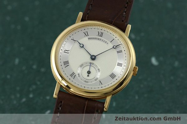 BREGUET CLASSIQUE 18 CT GOLD MANUAL WINDING KAL. 818/4 LP: 13900EUR [150821]