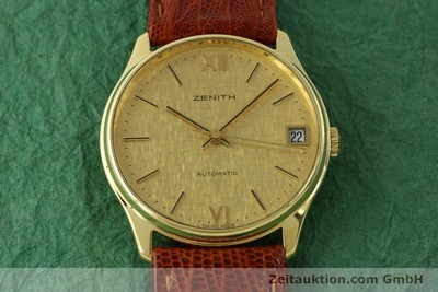 ZENITH 18 CT GOLD AUTOMATIC KAL. 2572PL LP: 7400EUR [150822]