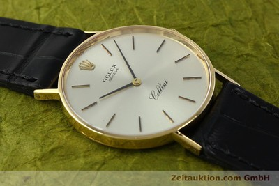 ROLEX CELLINI 18 CT GOLD MANUAL WINDING KAL. 1600 LP: 5000EUR [150828]