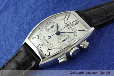 FRANCK MULLER CASABLANCA CHRONOGRAPH STEEL MANUAL WINDING KAL. LWO 1872 LP: 18600EUR [150831]