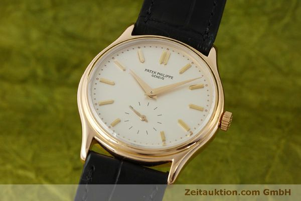PATEK PHILIPPE CALATRAVA 18 CT GOLD MANUAL WINDING KAL. 215  [150832]