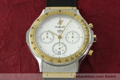 HUBLOT MDM CHRONOGRAPH STEEL / GOLD QUARTZ KAL. 1270 [150835]