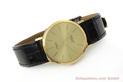 ROLEX CELLINI OR 18 CT REMONTAGE MANUEL KAL. 1601 LP: 5000EUR [150836]