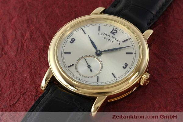 Used luxury watch Franck Muller * 18 ct gold manual winding Kal. 12 Ref. 7500 LIMITED EDITION | 150837 01