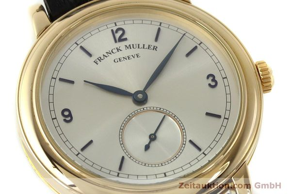 Used luxury watch Franck Muller * 18 ct gold manual winding Kal. 12 Ref. 7500 LIMITED EDITION | 150837 02