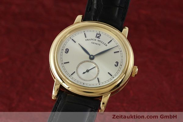 Used luxury watch Franck Muller * 18 ct gold manual winding Kal. 12 Ref. 7500 LIMITED EDITION | 150837 04