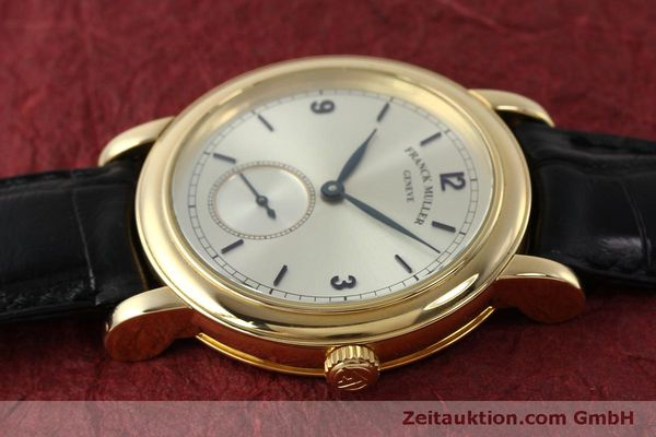 Used luxury watch Franck Muller * 18 ct gold manual winding Kal. 12 Ref. 7500 LIMITED EDITION | 150837 05