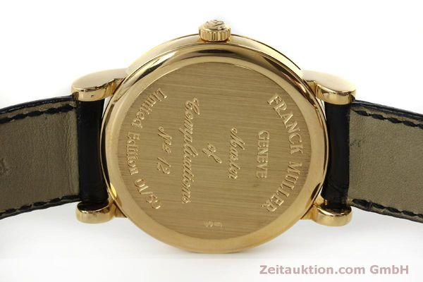 Used luxury watch Franck Muller * 18 ct gold manual winding Kal. 12 Ref. 7500 LIMITED EDITION | 150837 09
