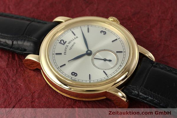Used luxury watch Franck Muller * 18 ct gold manual winding Kal. 12 Ref. 7500 LIMITED EDITION | 150837 16
