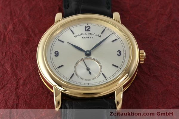 Used luxury watch Franck Muller * 18 ct gold manual winding Kal. 12 Ref. 7500 LIMITED EDITION | 150837 17