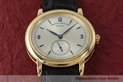 FRANCK MULLER 18 CT GOLD MANUAL WINDING KAL. 12 [150837]
