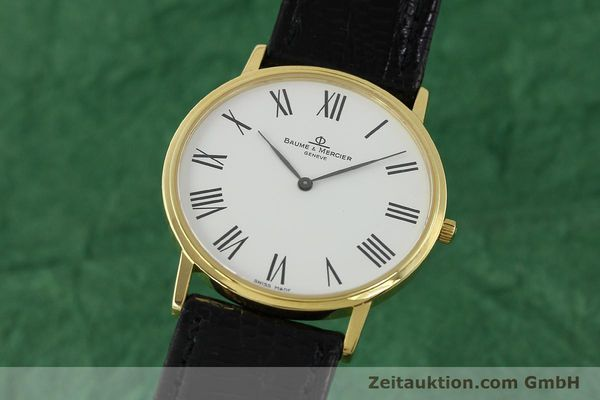 BAUME & MERCIER CLASSIMA 18K (0,750) RONDE GOLD HERRENUHR MEDIUM [150845]