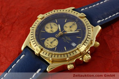 BREITLING CHRONOMAT CHRONOGRAPHE OR 18 CT AUTOMATIQUE KAL. B13 ETA 7750 LP: 23030EUR [150848]