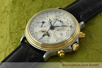 MAURICE LACROIX PHASE DE LUNE CHRONOGRAPH STEEL / GOLD AUTOMATIC KAL. VAL 7751 [150861]