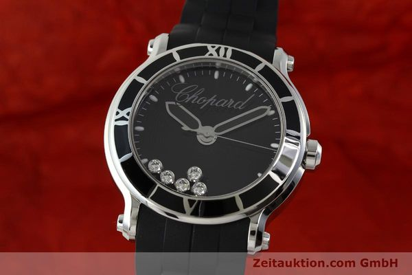CHOPARD HAPPY SPORT STEEL QUARTZ KAL. ETA 955.112 LP: 6900EUR [150869]