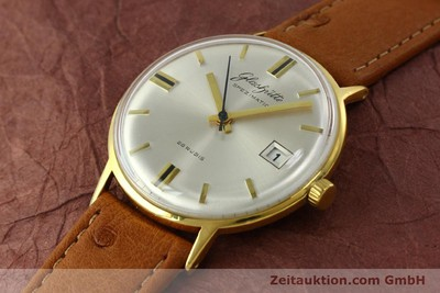 GLASHÜTTE SPEZIMATIC GOLD-PLATED AUTOMATIC KAL. 75 [150870]