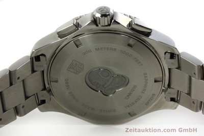 TAG HEUER AQUARACER CHRONOGRAPH STAHL HERRENUHR BIG DATE CAN1010 VP: 2100,- Euro [150884]