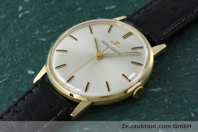 JAEGER LE COULTRE 18 CT GOLD MANUAL WINDING KAL. 885 VINTAGE [150890]