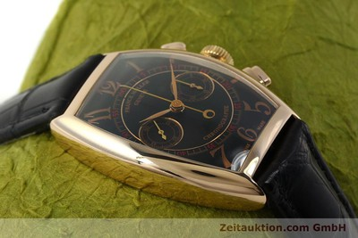FRANCK MULLER CASABLANCA CHRONOGRAPH 18 CT GOLD MANUAL WINDING KAL. LWO 1870 LP: 22800EUR [150901]