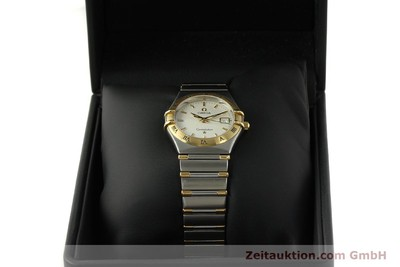 OMEGA CONSTELLATION STEEL / GOLD QUARTZ KAL. ETA 256461 LP: 3960EUR [150911]