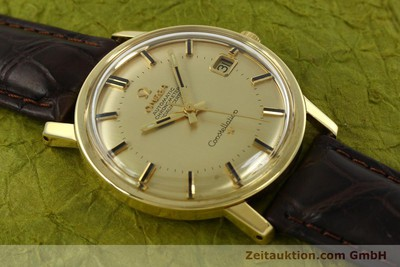 OMEGA 18K GOLD CONSTELLATION AUTOMATIK HERRENUHR VINTAGE 1966 VP: 6710,-EUR [150914]