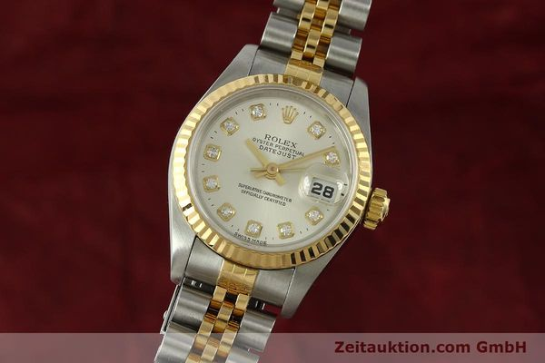 ROLEX LADY DATEJUST STEEL / GOLD AUTOMATIC KAL. 2135 LP: 9200EUR [150917]