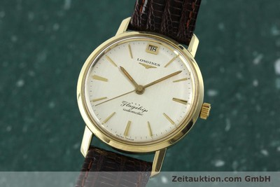 LONGINES FLAGSHIP GOLD-PLATED AUTOMATIC KAL. 341 LP: 1390EUR VINTAGE [150943]