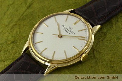 IWC PORTOFINO 18 CT GOLD MANUAL WINDING KAL. 89 VINTAGE [150955]