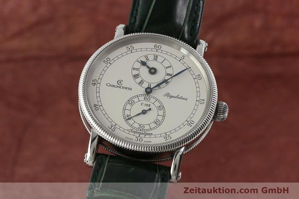 CHRONOSWISS REGULATEUR ACIER AUTOMATIQUE KAL. C122 [150966]