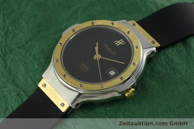 HUBLOT MDM STEEL / GOLD QUARTZ KAL. ETA 956.112 [150980]