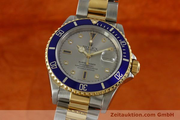 ROLEX SUBMARINER STEEL / GOLD AUTOMATIC KAL. 3135 LP: 11600EUR [150987]