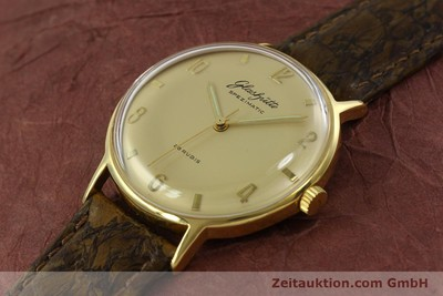 GLASHÜTTE SPEZIMATIC GOLD-PLATED AUTOMATIC [151008]