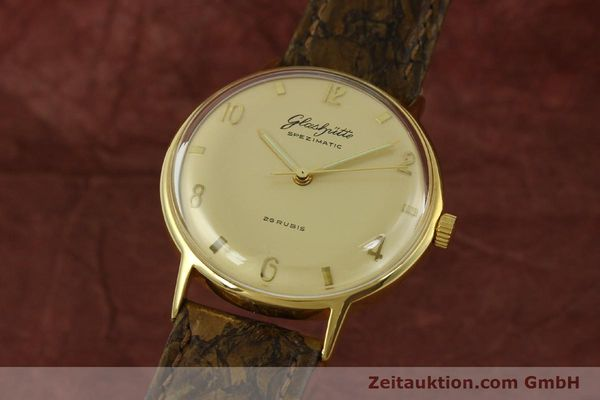 GLASHÜTTE SPEZIMATIC DORÉ AUTOMATIQUE [151008]