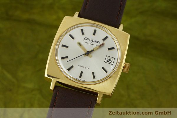 GLASHÜTTE SPEZIMATIC DORÉ AUTOMATIQUE KAL. 75 [151023]
