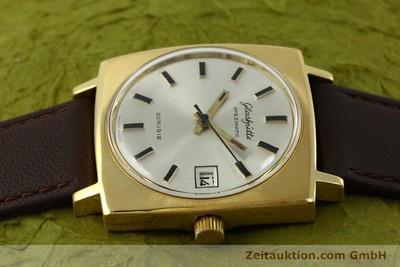 GLASHÜTTE SPEZIMATIC GOLD-PLATED AUTOMATIC KAL. 75 [151023]