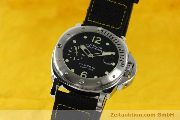 PANERAI LUMINOR SUBMERSIBLE PAM 00024 AUTOMATIK OP6561 HERRENUHR VP: 6600,- EURO [151031]