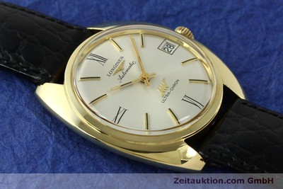 LONGINES ULTRA CHRON OR 18 CT AUTOMATIQUE KAL. 431 LP: 4200EUR [151033]