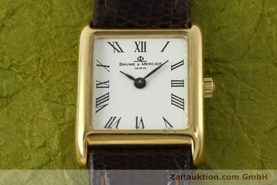BAUME & MERCIER 18 CT GOLD QUARTZ KAL. BM5095 ETA 976.001 [151040]