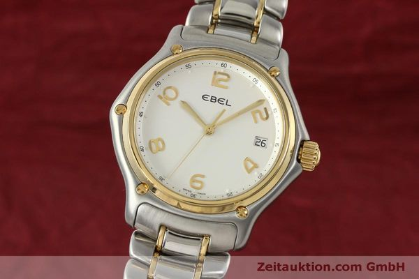 EBEL 1911 STEEL / GOLD QUARTZ KAL. 187-2 [151042]
